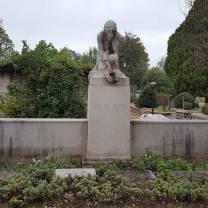 Greek Goddess headstone